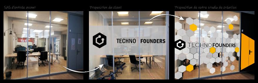 Avant / Après Technofounders