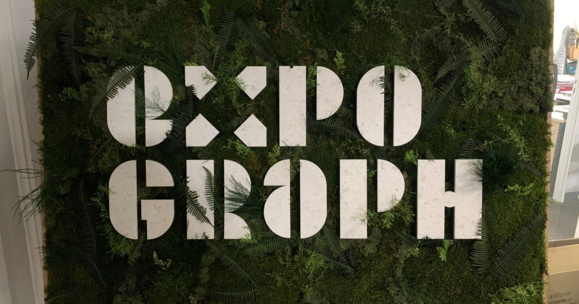 Panneau végétal expograph